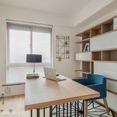 优雅97平日式三居书房装修效果图