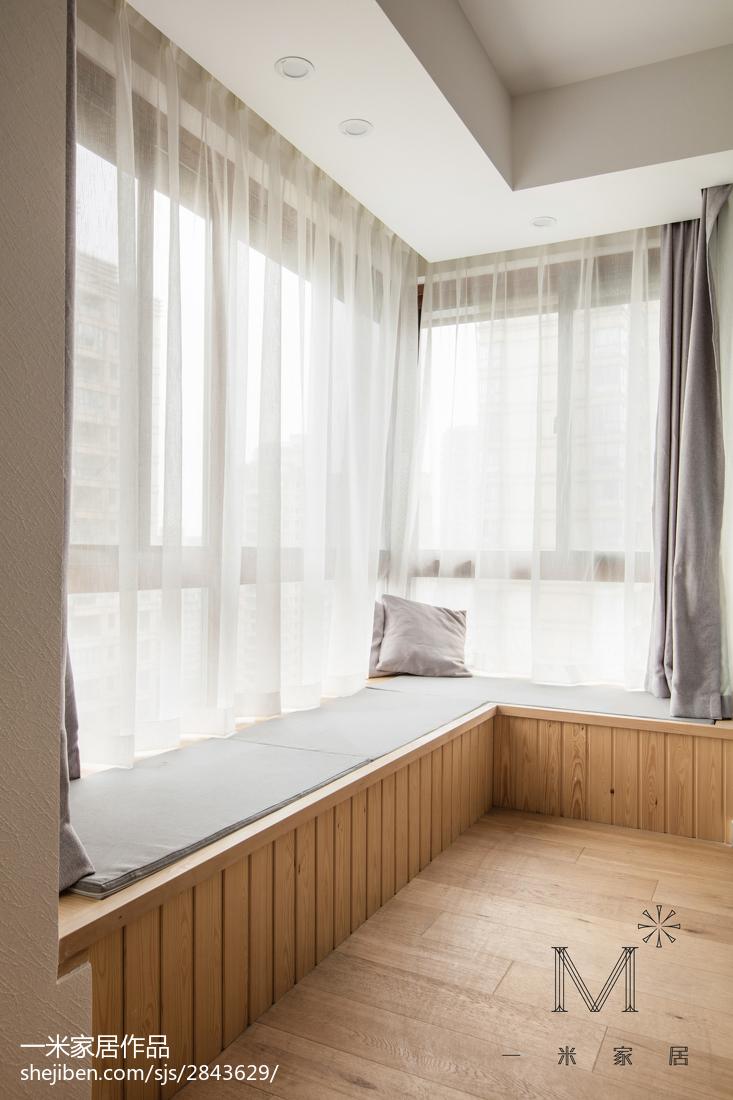 热门99平米三居卧室日式装修图片