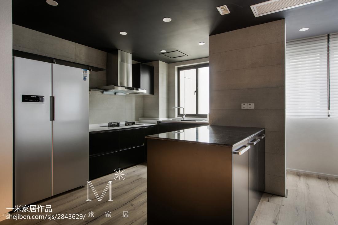 热门简约三居厨房效果图片