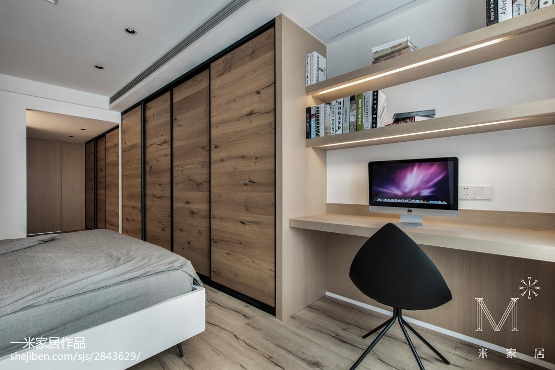精选94平米三居卧室简约效果图片大全