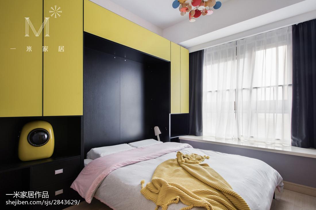 热门三居儿童房北欧装修设计效果图片大全