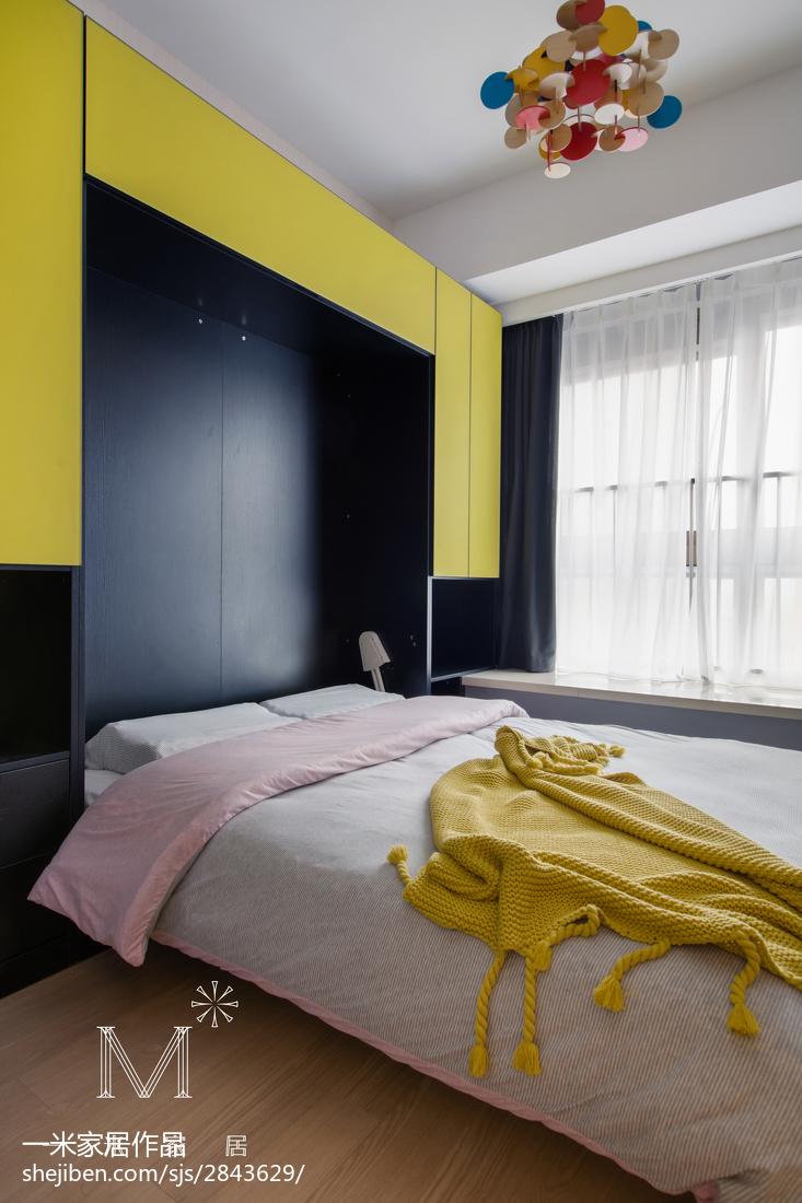 精选北欧三居儿童房装修设计效果图