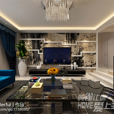简约时尚家庭室内装修效果图