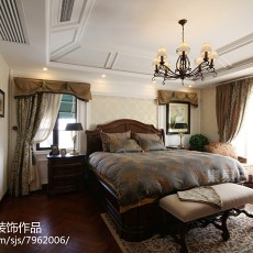 精美面积141平别墅卧室美式实景图片大全