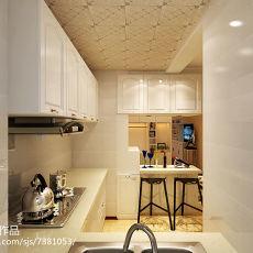 小户型简约厨房装修效果图欣赏