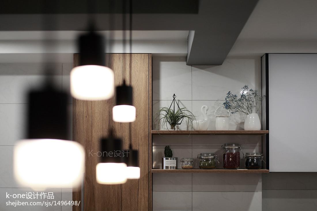 201964平现代二居厨房装饰图片