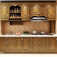 精选102平方三居厨房欧式装饰图
