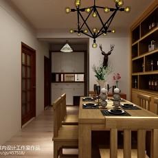 中式风格两室两厅装修效果图
