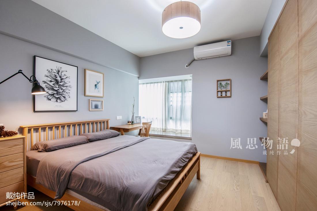 2018117平米四居卧室日式欣赏图