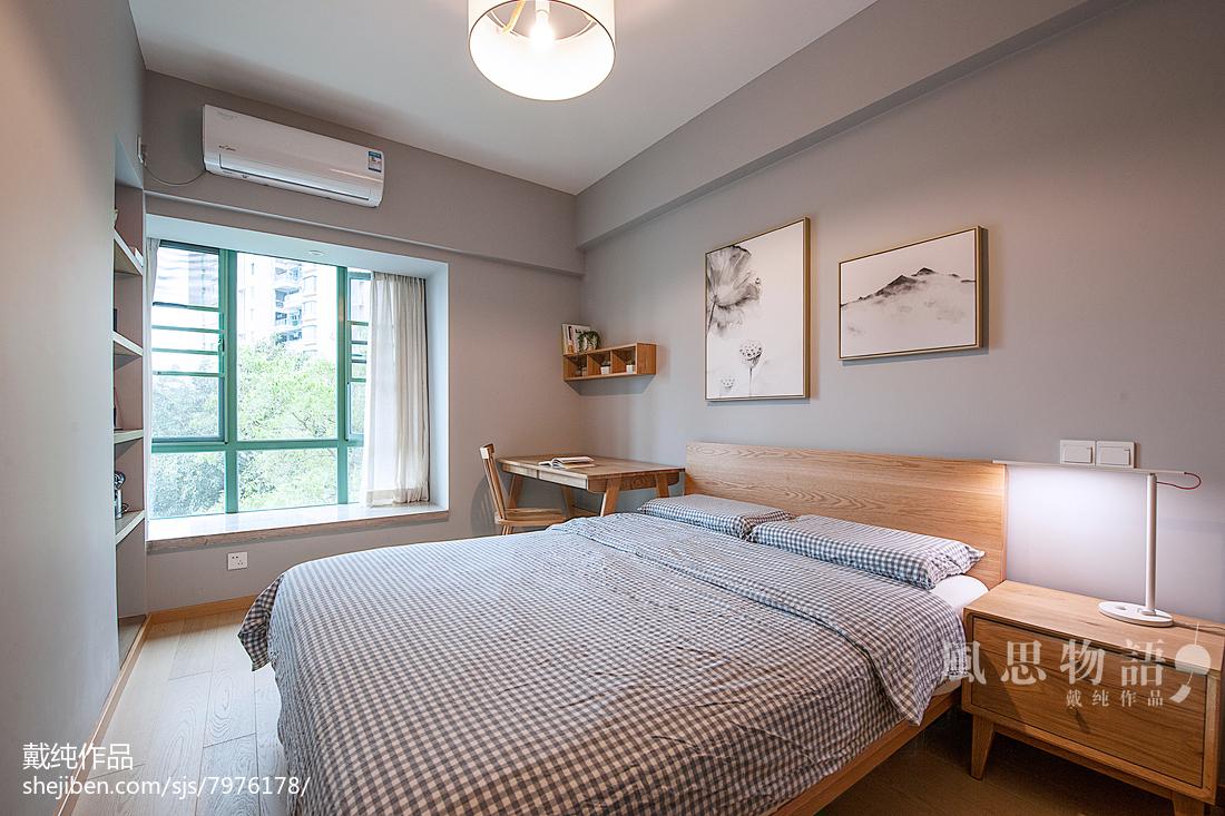 2018精选面积137平日式四居卧室装修欣赏图片大全