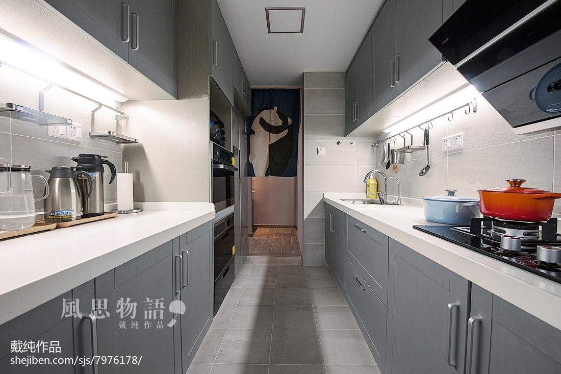 热门四居厨房日式设计效果图