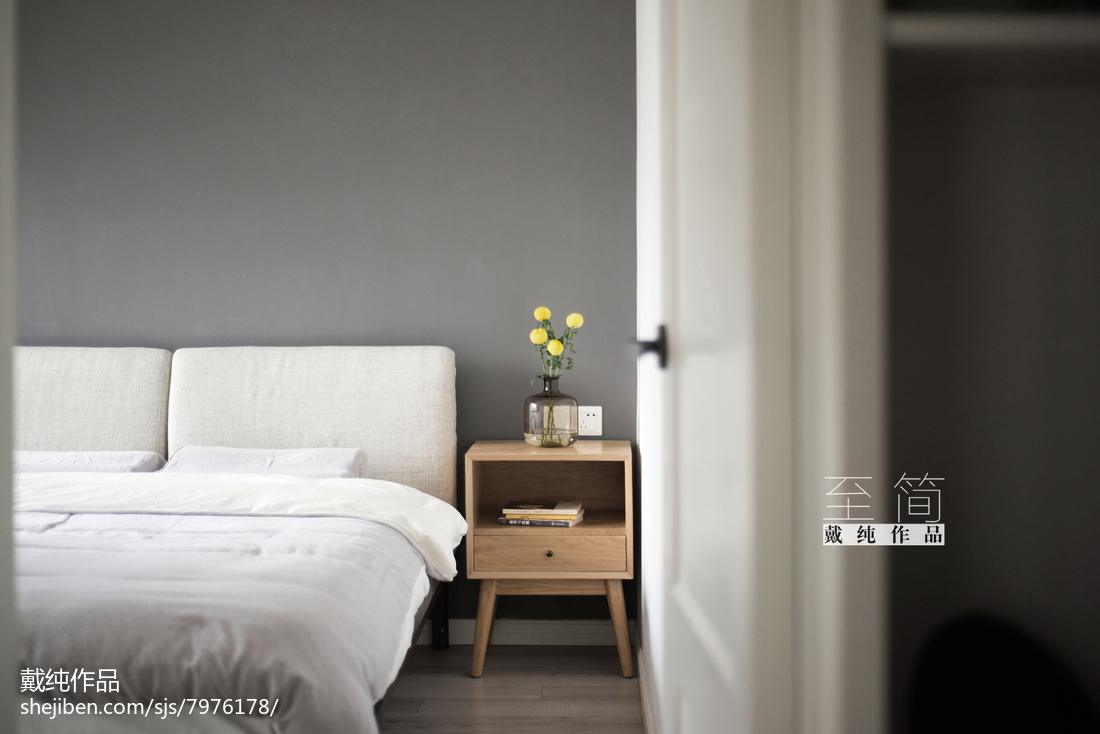 201879平方二居卧室现代实景图片大全