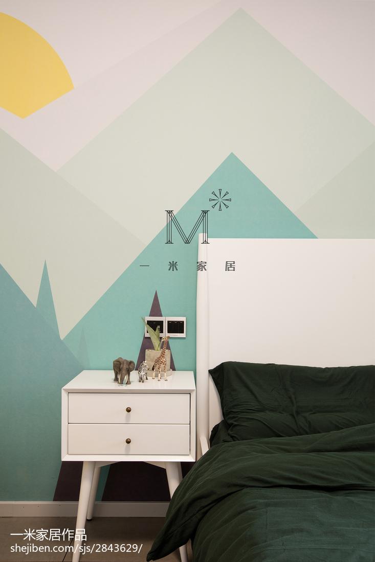 精美北欧三居儿童房装修设计效果图