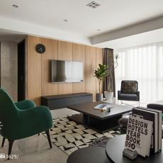 大气150平现代三居装修装饰图