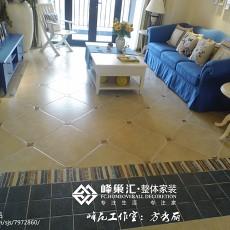 精美地中海三居客厅装修设计效果图片欣赏