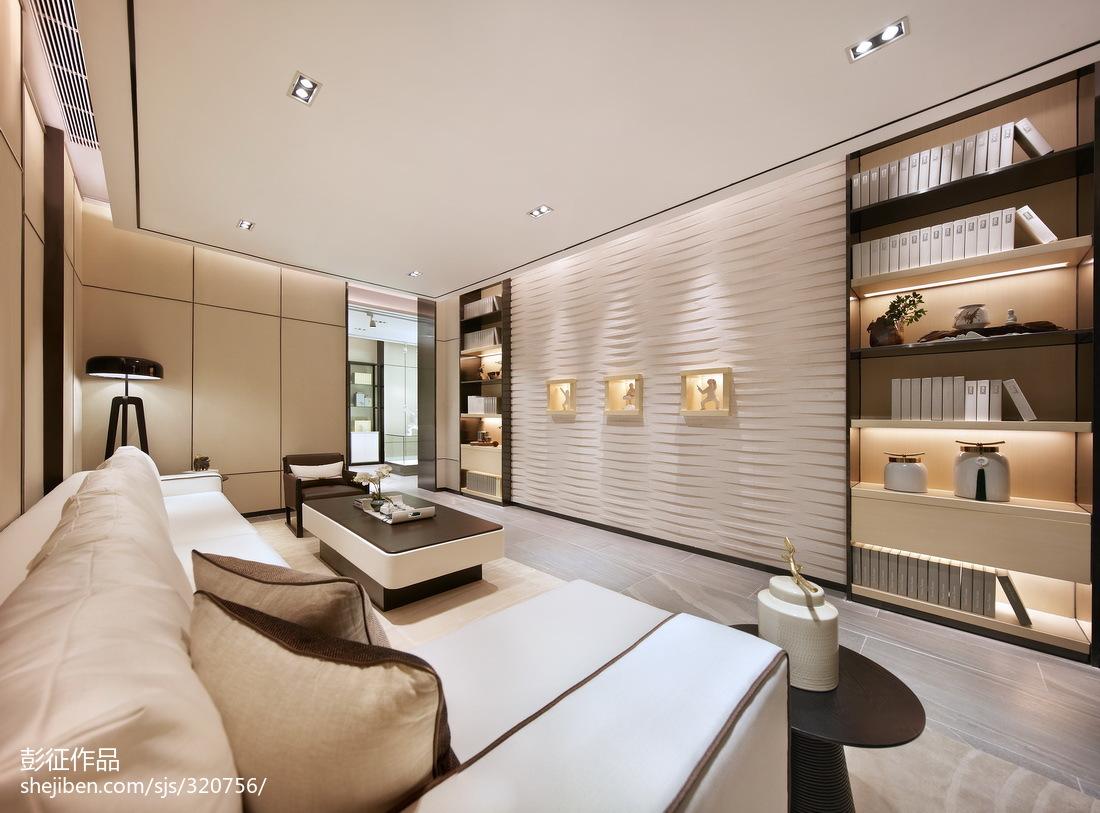 面积125平别墅客厅中式欣赏图