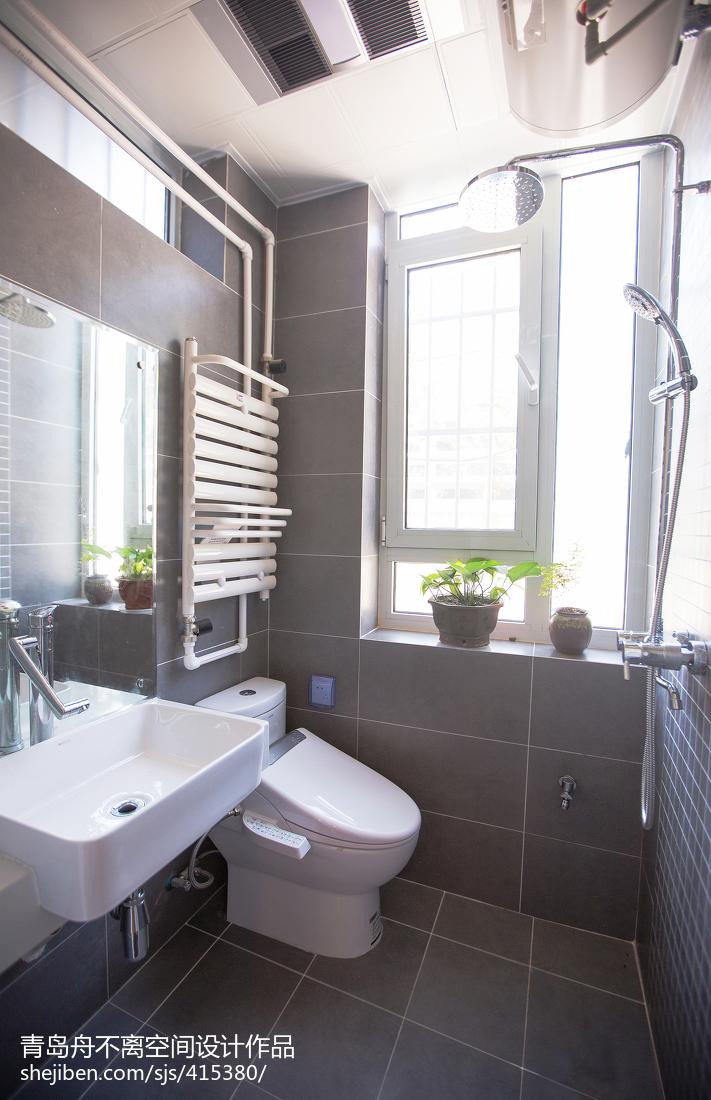 日式小户型卫生间装修设计效果图片欣赏