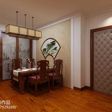 88平米二居餐厅东南亚实景图片大全