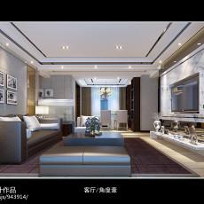 中式风格四室两厅装修效果图大全欣赏