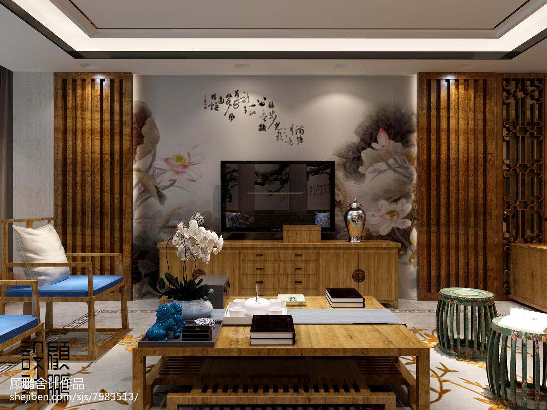热门面积77平欧式二居装修效果图片大全