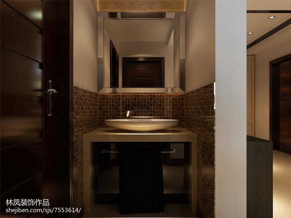 小户型二居厨房卫生间装修效果图