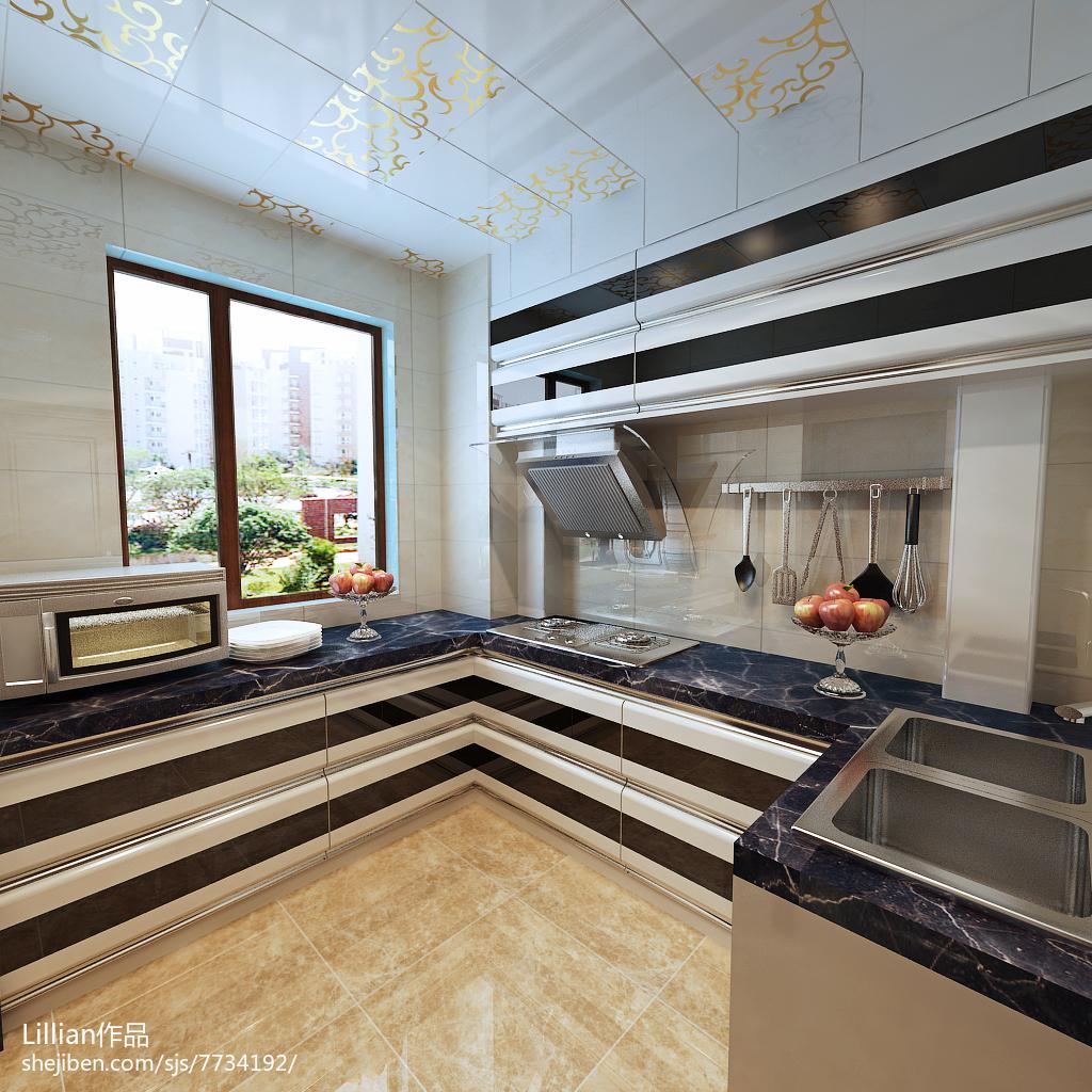 时尚宜家风格二居室设计欣赏
