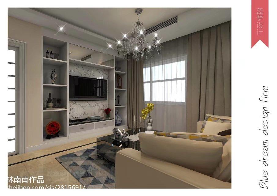 时尚现代简约风格二居室