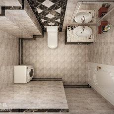 现代风格90平米两房装修效果图