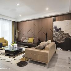 典雅180平现代三居设计案例