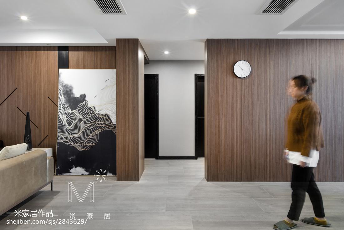 悠雅106平现代三居餐厅装饰美图