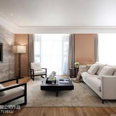 2018107平大小客厅三居现代装修欣赏图
