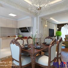 新古典风格奢华装修客厅效果图