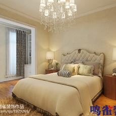 精美欧式二居卧室装修欣赏图