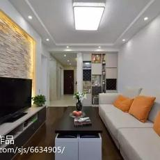 大小78平现代二居客厅装修欣赏图片