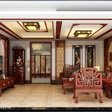 精选113平米现代复式客厅设计效果图