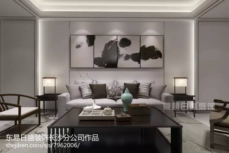 2018精选113平米四居简约装饰图片欣赏