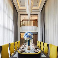 2018餐厅新古典装修实景图片欣赏