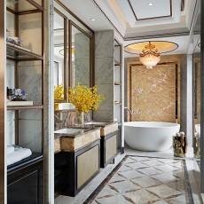 热门卫生间新古典装修效果图片