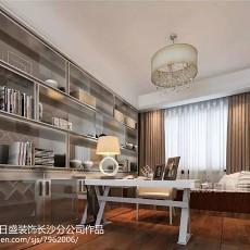 美式豪华四居室装修设计效果图大全