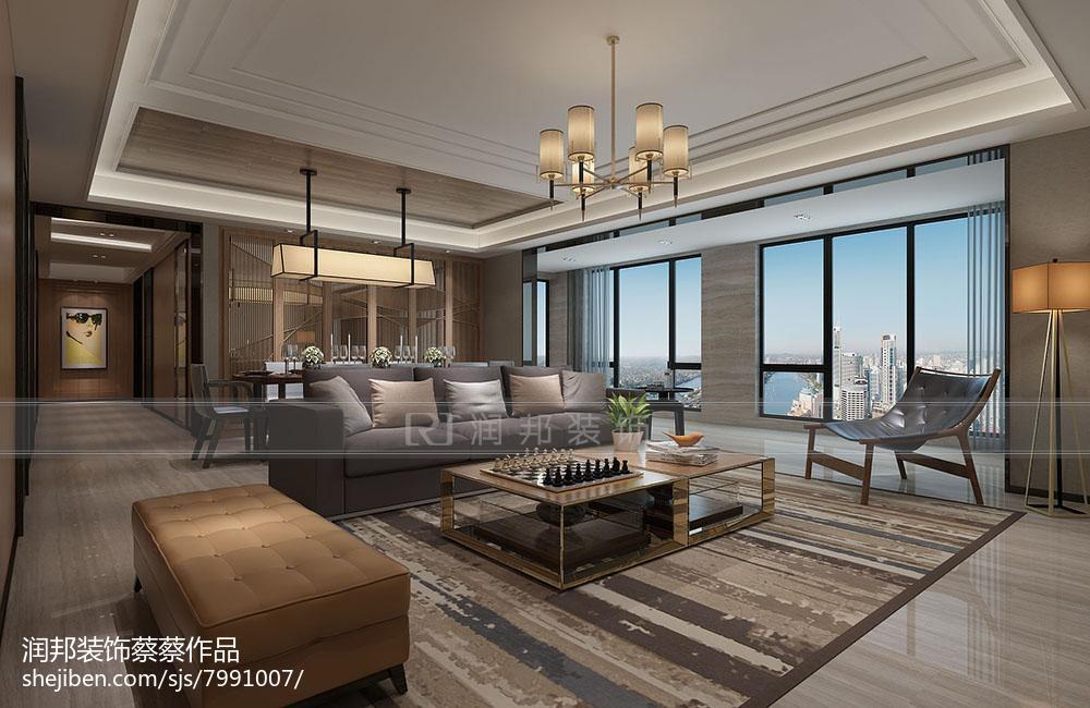 现代风格四室两厅装修设计效果图欣赏大全
