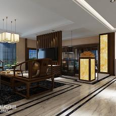 宾馆室内过道装修设计效果图片