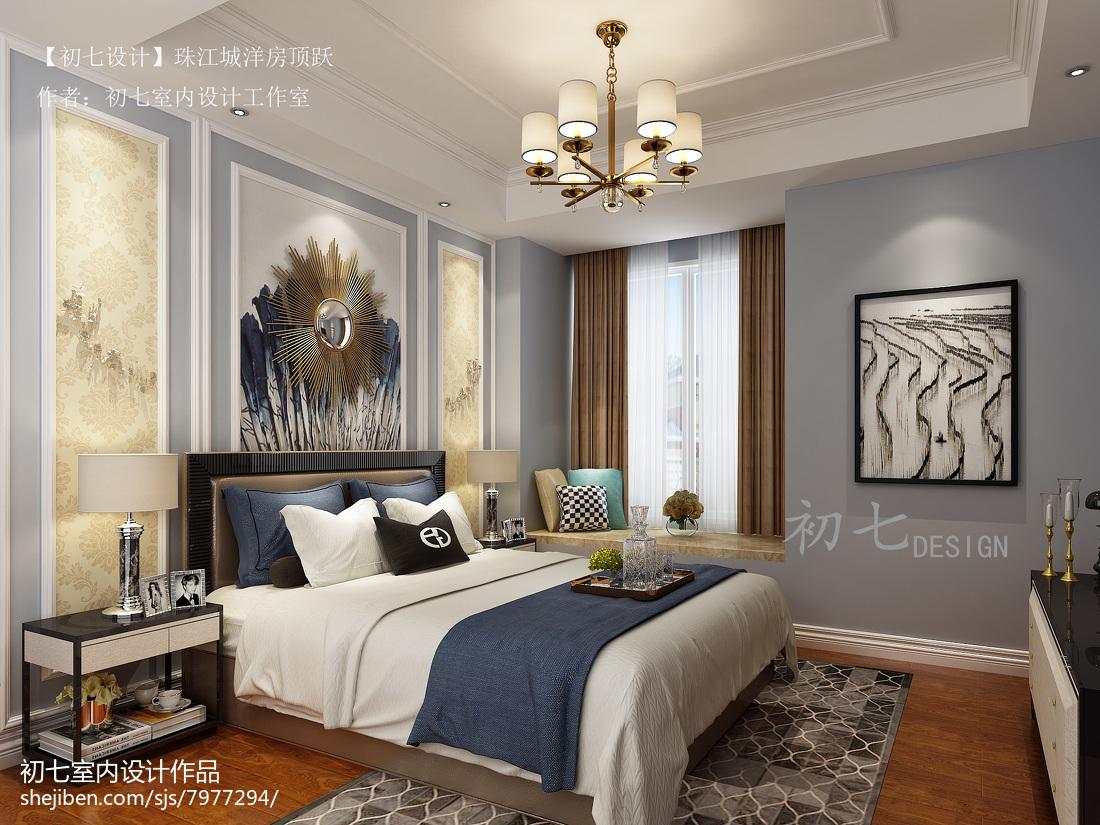 2018最新124平米欧式复式卧室设计效果图
