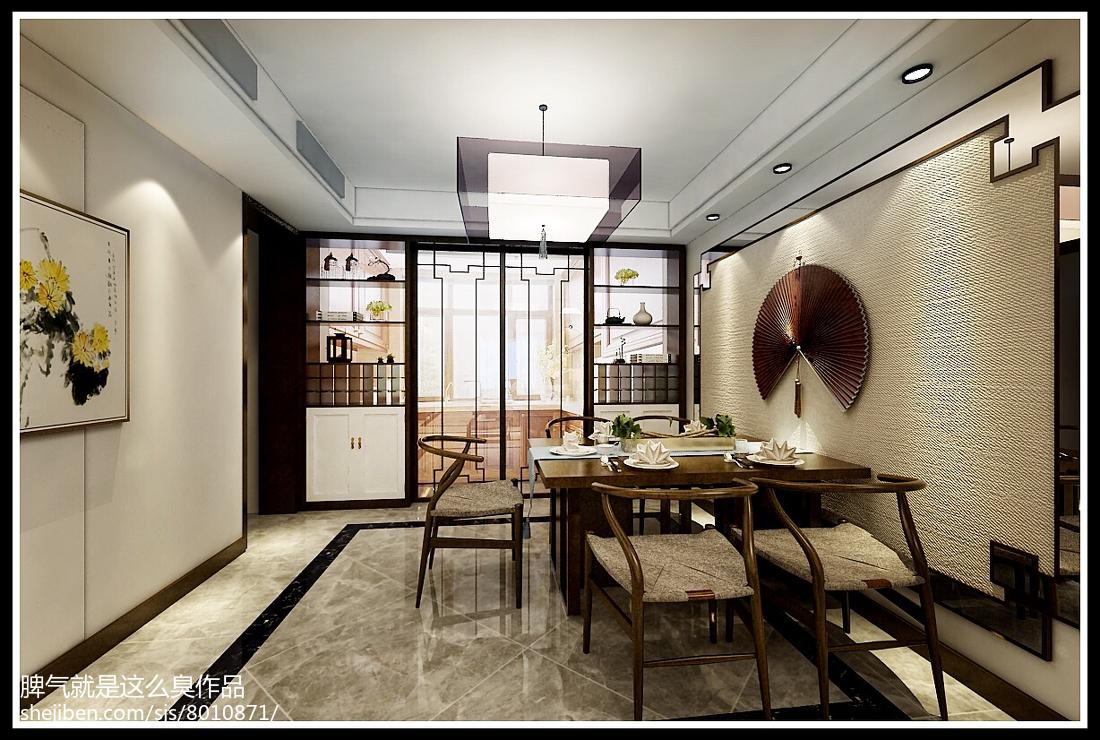 逸品尚东别墅中式风格客厅隔断装修效果图大全2014图片