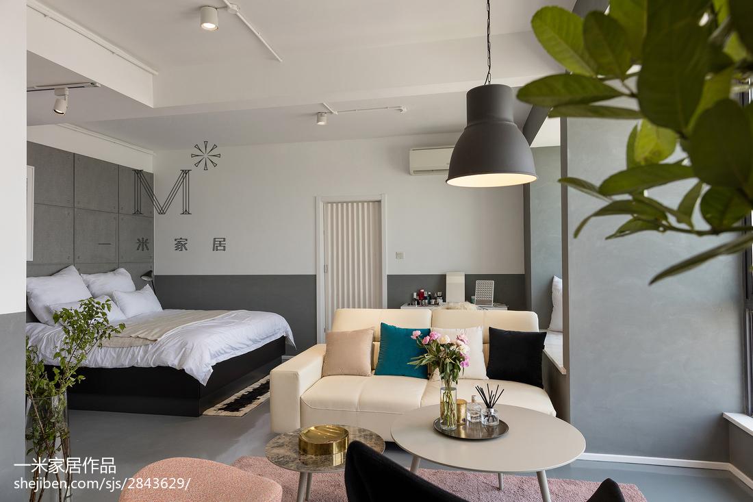 2018精选北欧三居卧室装修设计效果图