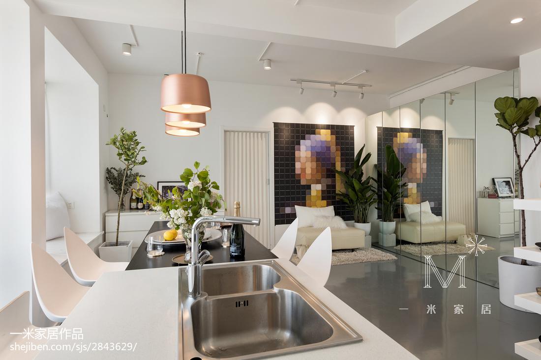 精美北欧三居厨房装修设计效果图片欣赏