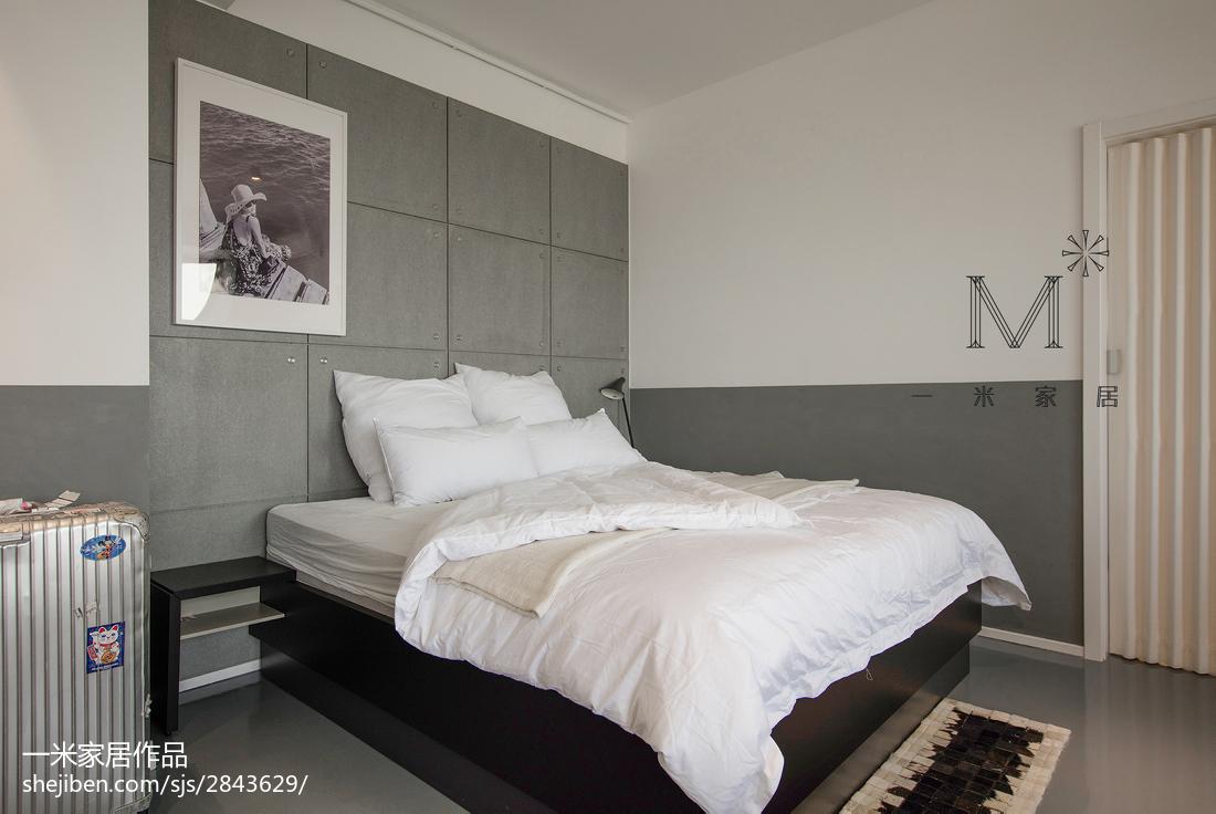 热门北欧三居卧室装修设计效果图