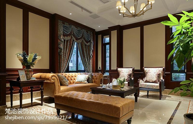 美式别墅装修案例