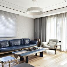 精美110平米现代别墅客厅装修设计效果图片大全
