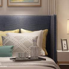 2018精选90平米三居卧室欧式装修设计效果图片欣赏