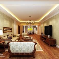 现代风格两室两厅装修效果图片